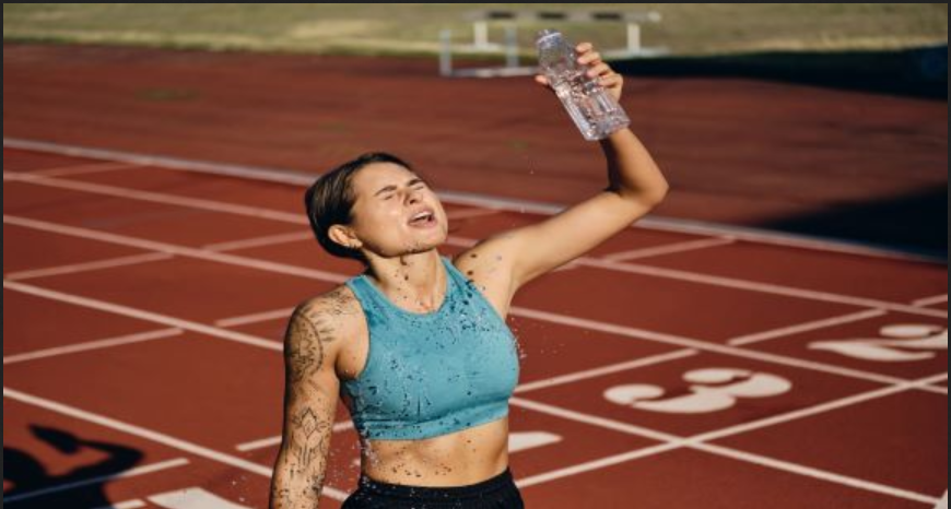 Athlete tired due to exertional heat stroke